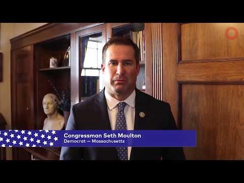 Congressman Seth Moulton (D-MA)   Global Citizen Festival NYC 2017