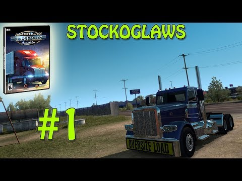 American Truck Simulator New Mexico Add On  /w Stockoglaws - Ep 1