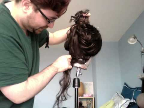TUTORIAL - Sewing Hair Into A Wig