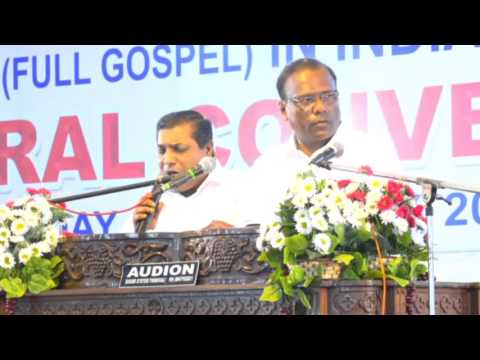 93rd Church of God  Full Gospel  in India General Convention 2016 ||   Day -4  Thursday