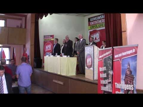 NPD THÜRINGEN / 12.05.2012 - LANDESPARTEITAG 2012 in Haselbach (Zusammenfassung)