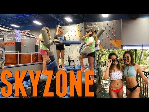 2 BIRTHDAY PARTIES IN ONE DAY! POOL PARTY FOR EMMA SKYZONE FOR ELLIE! thumbnail