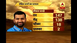 Video IndvsNz: Rohit (147), Kohli (113) centuries drive India to 337/6 after 50 over download MP3, MP4, WEBM, AVI, FLV Mei 2018