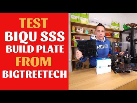 Biqu SSS Super plate-forme en t/ôle dacier /à ressorts pour imprimante 3D PEI 235 x 235 mm