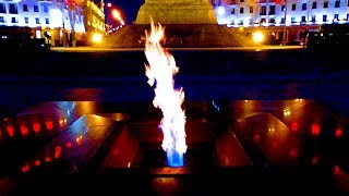 Футаж Вечный Огонь. Футажи День Победы 9 Мая Вечный Огонь. Красивое Пламя. Футажи для видеомонтажа