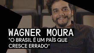 Wagner Moura revela seu desgosto pela atual política nacional