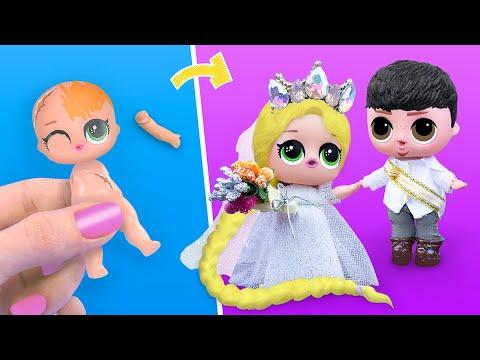 9 идей для старых кукол ЛОЛ Сюрприз в стиле Дисней