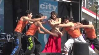 Sadi Gali - Shiamak Davar International - Concerts in the Square 2011