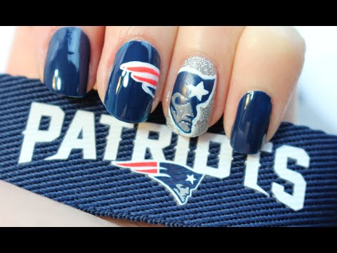 PATRIOTS NAILS: JULIE G - YouTube