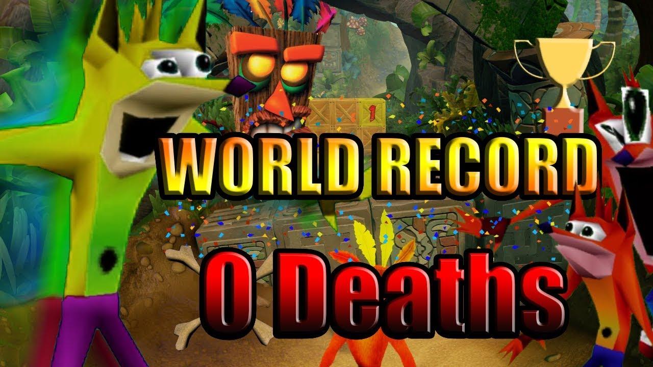 CRASH BANDICOOT 1 NST ~ any% Speedrun NO DEATHS *WORLD RECORD!!!* 10/8/2017
