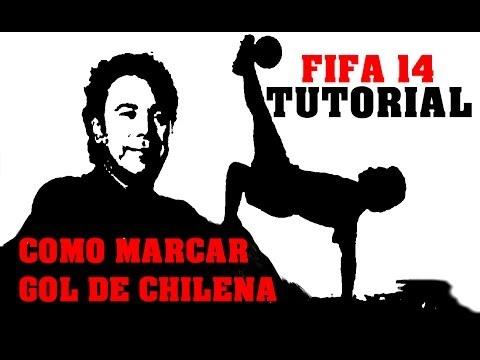 FIFA 14 - TUTORIAL, COMO HACER CHILENAS