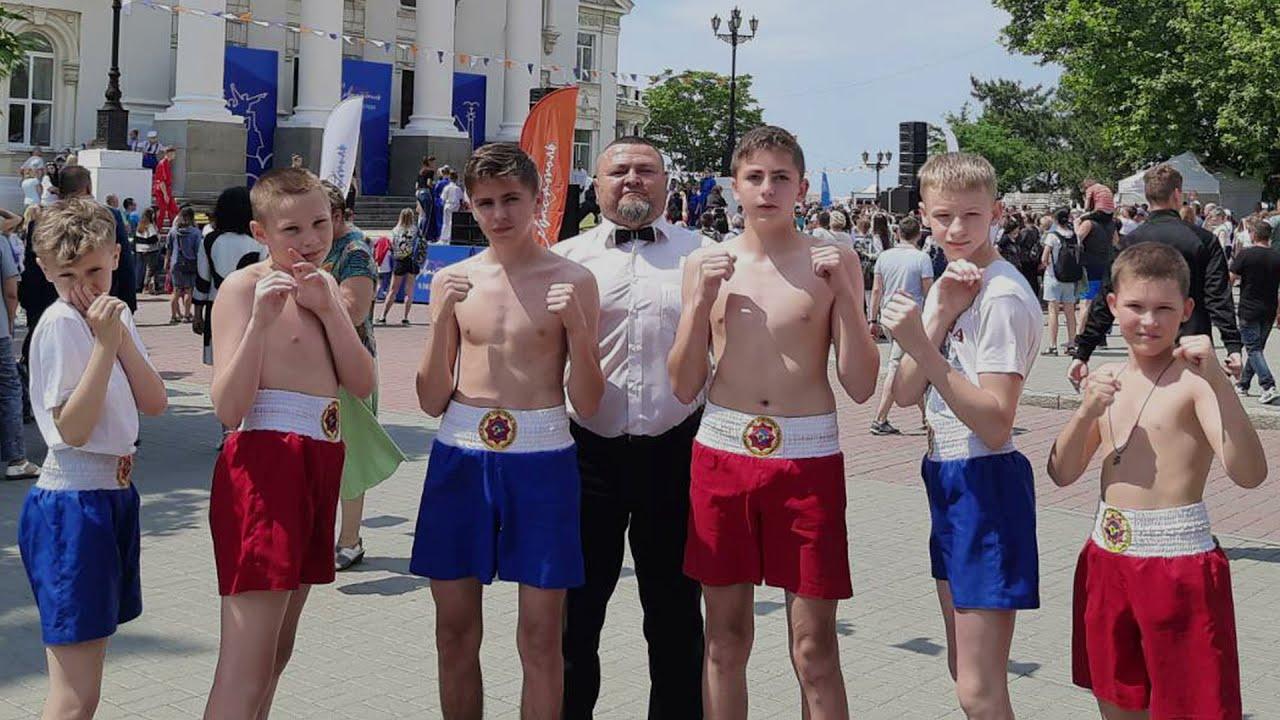 Федерация Крымского стиля: показательные поединки