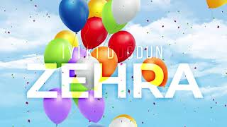 İyi ki Doğdun Zehra  (Kişiye Özel Çocuk Doğum Günü Şarkısı) Vuhhu