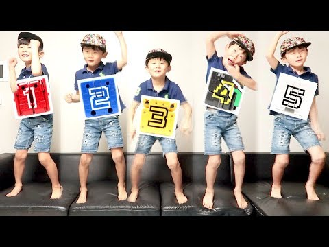 Doubutsu Sentai Zyuohger with Five Little Monkeys Jumping On The Bed Song~ Dinosaur Nursery Rhymes