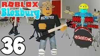 STARTING A BAND! Roblox BLOXBURG - France Ep.36 (ep.36)