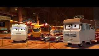 Planes:  Fire & Rescue WorldClip - First Kiss (2014) - Disney Animated Sequel HD