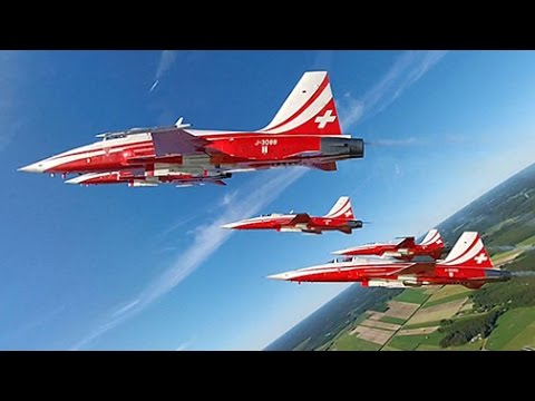 Patrouille Suisse 2012 Highlights