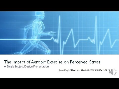 aerobic exercise summary Summary aerobic exercise is a type of physical activity where oxygen is used to provide energy it is usually performed at a moderate to high intensity and involves continuous and rhythmical activities such as walking, running and swimming.