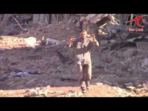 Nusaybin'de 25 Pkklı İt Sürüsü Teröristin Teslim Anı