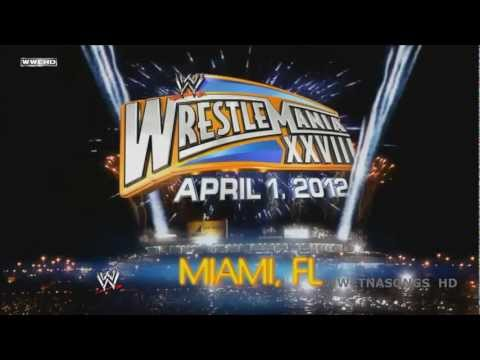2012 WWE Wrestlemania 28 1st Theme Song - 'Invincible' by Machine Gun Kelly ft Ester Dean and DL