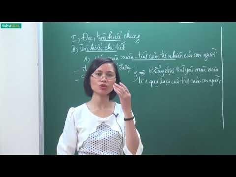 [Học Online] MÙA XUÂN CỦA TÔI _ Ngữ văn 7 _ TS. Trần Thị Vân Anh