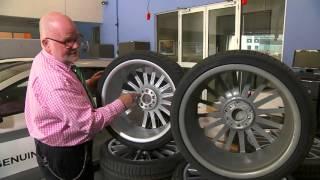 Mercedes-Benz/Holden counterfeit wheel pothole test cracking
