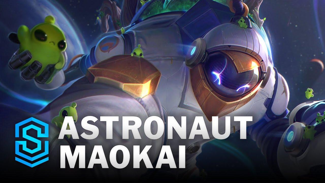 Astronaut Maokai Skin Spotlight - League of Legends