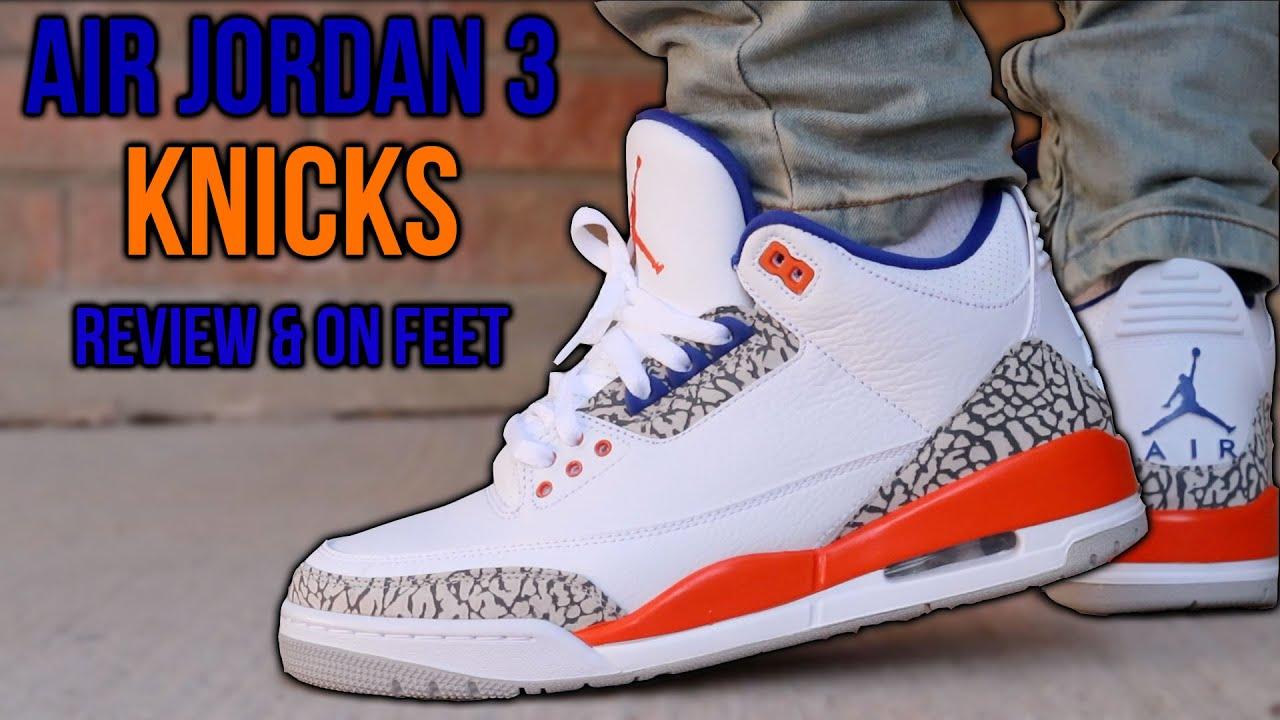 jordan iii knicks