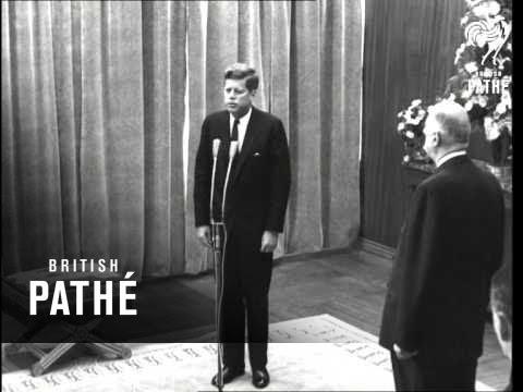 President Kennedy's Speech In Paris (1961)