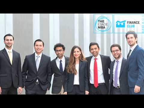 The ESADE MBA: MBASA - Finance Club