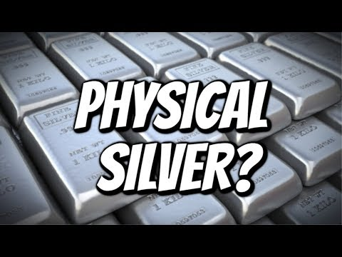 Why Everyone Should Own PHYSICAL Silver.