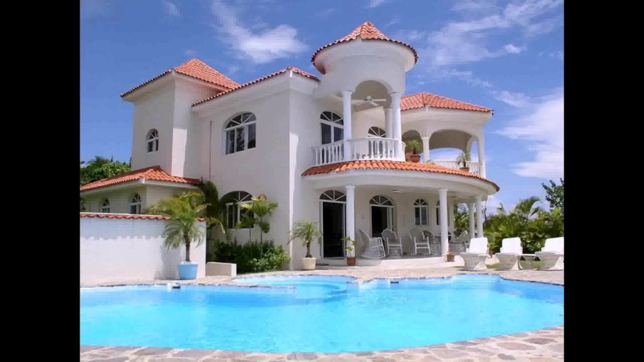 Dream House Design Inside And Outside - YouTube
