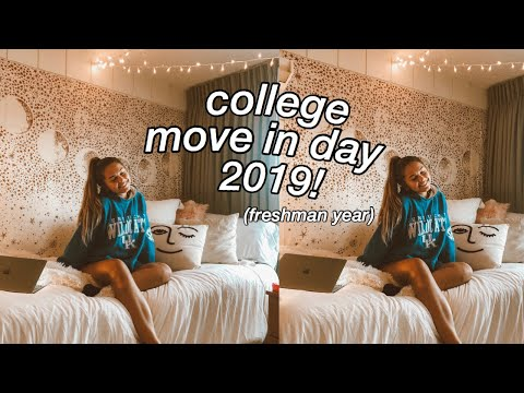 college move in day 2019! (freshman year)