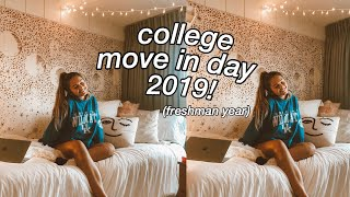 college move in day 2019! (freshman year)