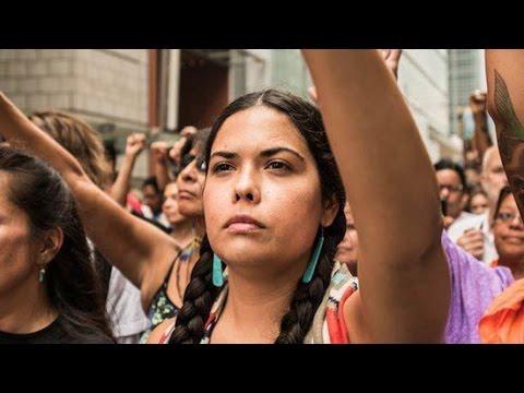 Meet Tara Houska, Bernie Sanders's New Native American Advisor