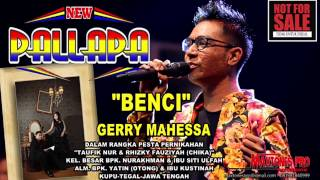 Gambar cover Best Gerry Mahessa Benci New pallapa