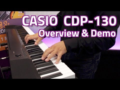 Casio CDP-130 Digital Piano - Overview & Demo