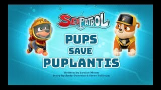 Щенячий патруль | 4 сезон 26 серия  | Sea Patrol:Pups Save Puplantis