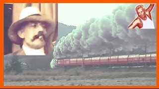 Beautiful Music Of Steam: Elgar Introduction & Allegro -- Great Steam Trains British Classical Music