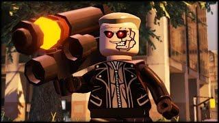 LEGO MARVEL AVENGERS - Customs - Creating Scarecrow & The Terminator!