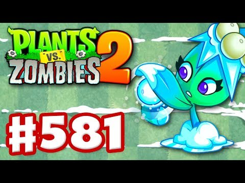 Plants vs. Zombies 2 - Gameplay Walkthrough Part 581 - Missile Toe Premium Seeds Epic Quest!