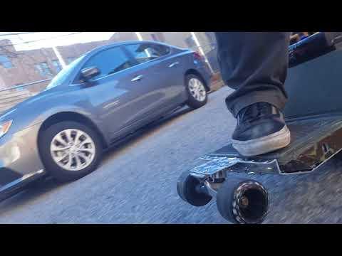 Onewheel - Front wheels testing