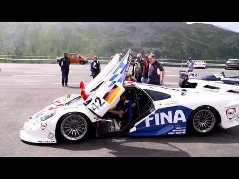 BMW Motorsport event at the Timmelsjoch High Alpine road