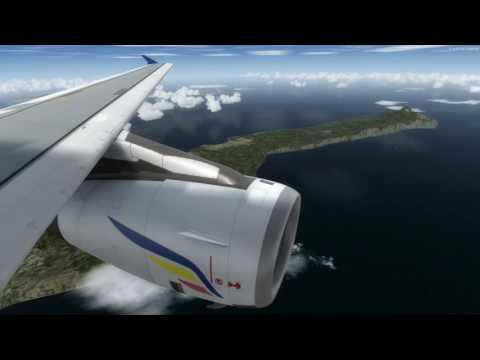 Air Moldova Landing Skiatos RW2 Visual Landing