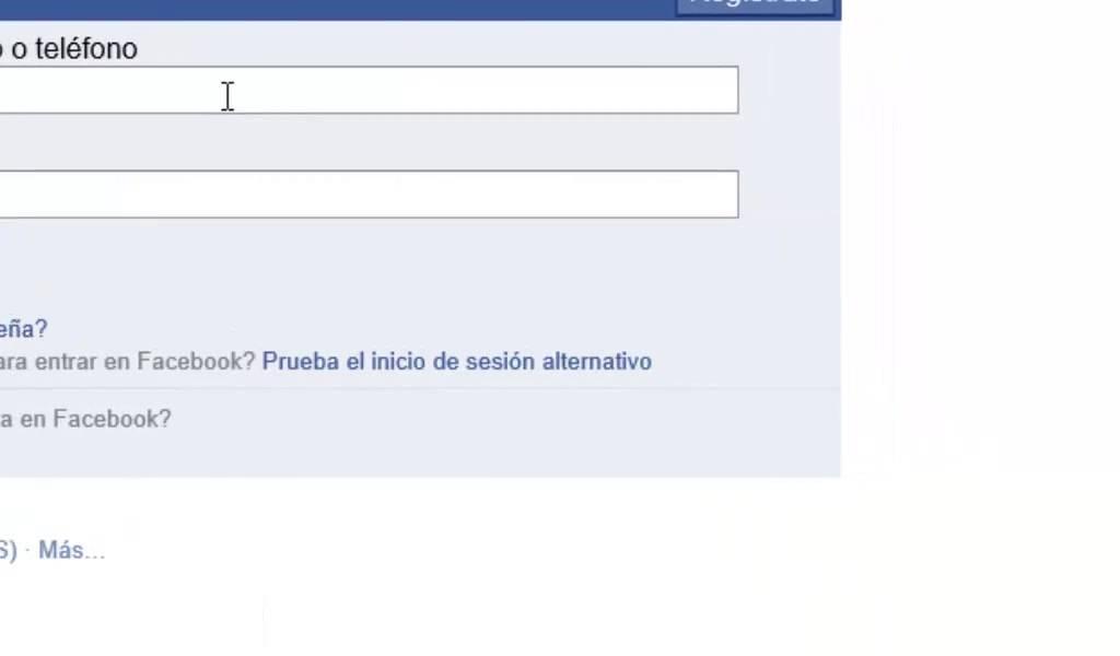 Entrar a mi facebook