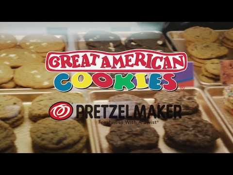Great American Cookies & Pretzelmaker Commercial Series