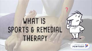 Sports & Remedial Therapy Intro