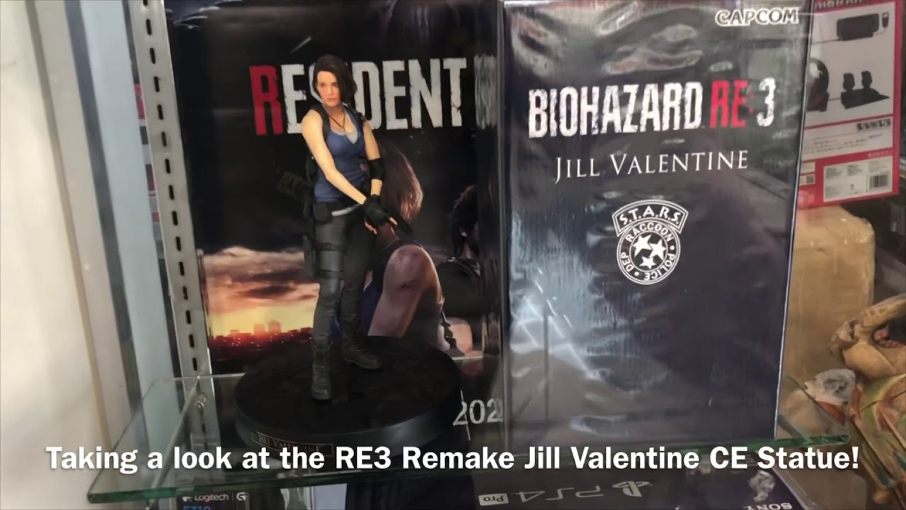Sneak Peek At The Resident Evil 3 Collector S Edition Jill