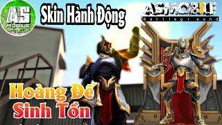 [Garena Free Fire] Skin Hoàng Đế Thánh Hành Động Mới Ngầu Ơi Là Ngầu | AS Mobile