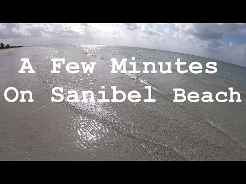 Sanibel Island Beach Florida Vlog GoPro With Ian